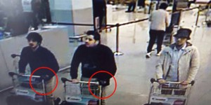 Suspects Brussels Airport bombing.
