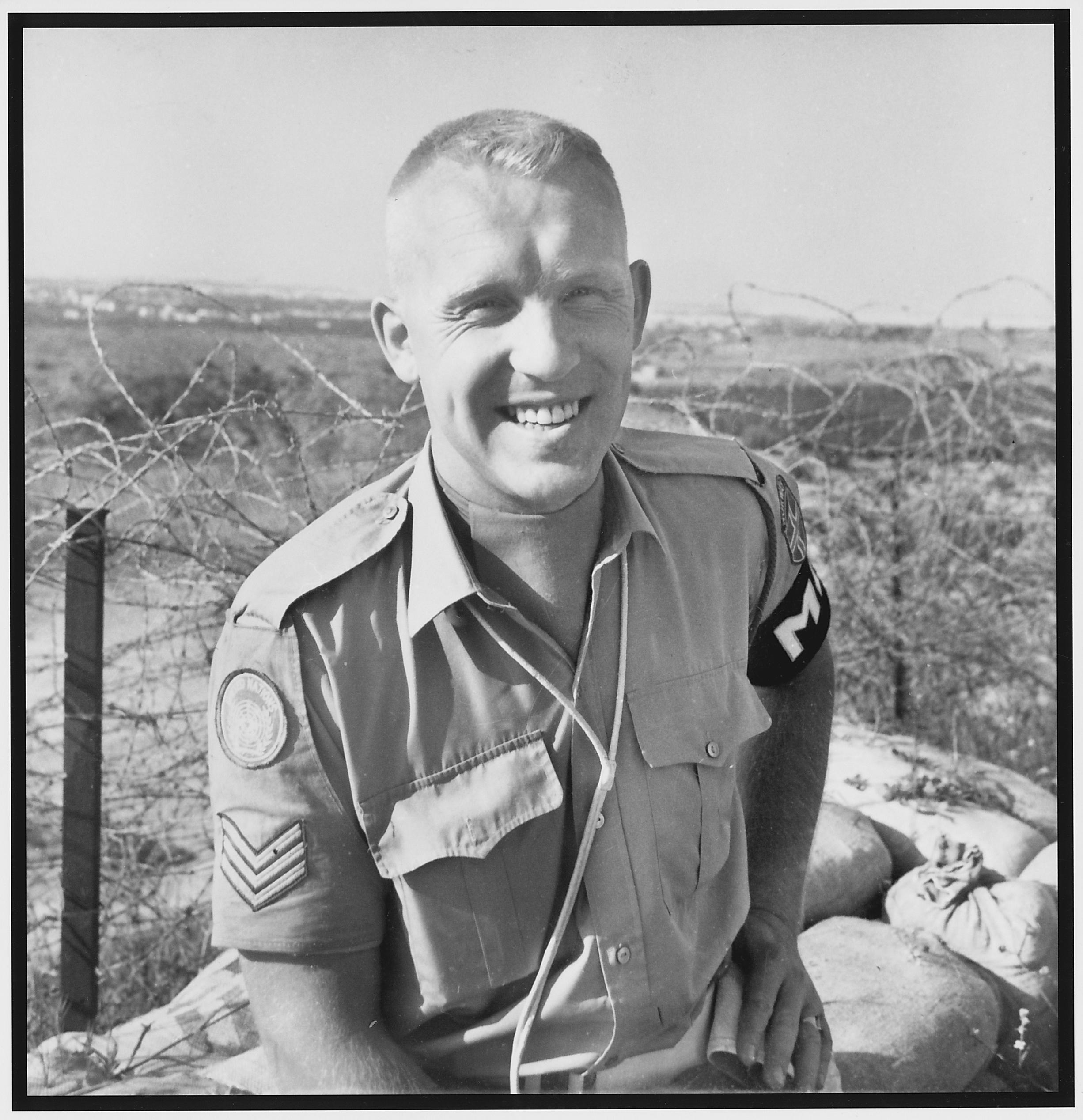 Arne Gerrit Halvorsen i aktiv tjeneste.